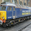 57307 in eye catching livery at KX on 2nd August 2014